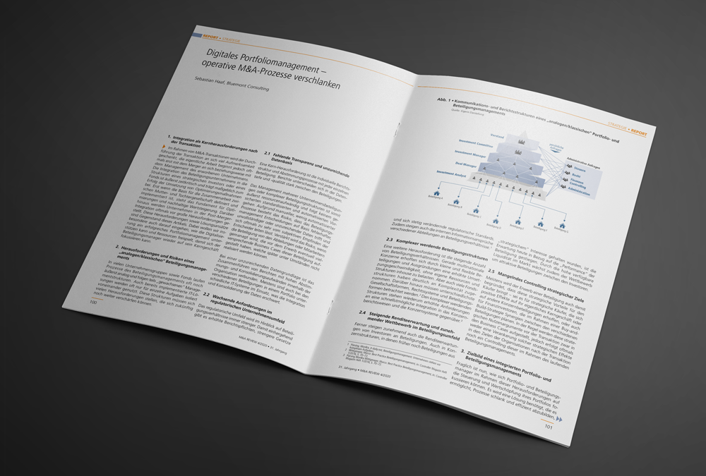 M&A REVIEW ARTICLE: DIGITAL PORTFOLIO MANAGEMENT – STREAMLINE OPERATIONAL M&A PROCESSES