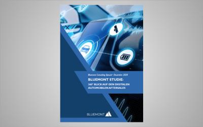 Neue Bluemont Studie: Automobiler Aftersales hinkt bei der Digitalisierung deutlich hinterher!