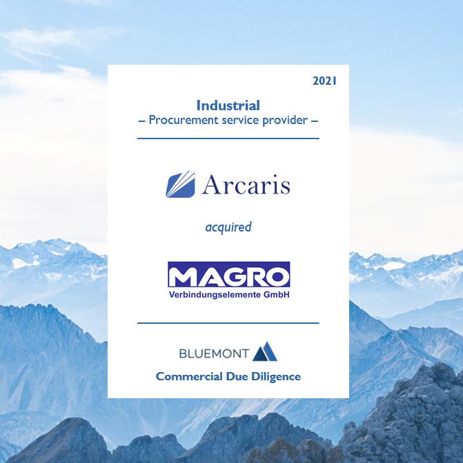 Bluemont unterstützt Arcaris bei der Übernahme des Einkaufsspezialisten MAGRO mit einer Commercial Due Diligence